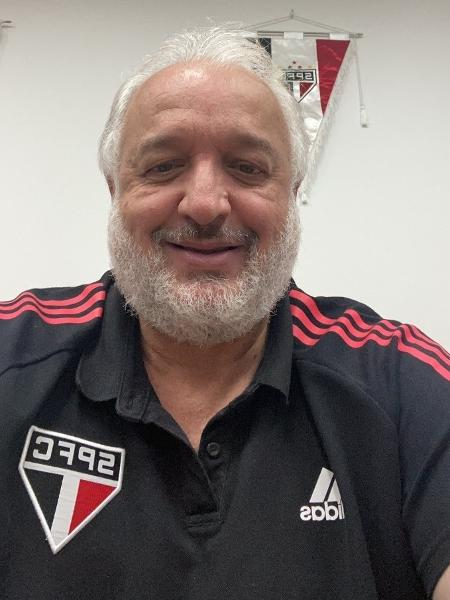 Carlos Belmonte, diretor de futebol do São Paulo - Reprodução