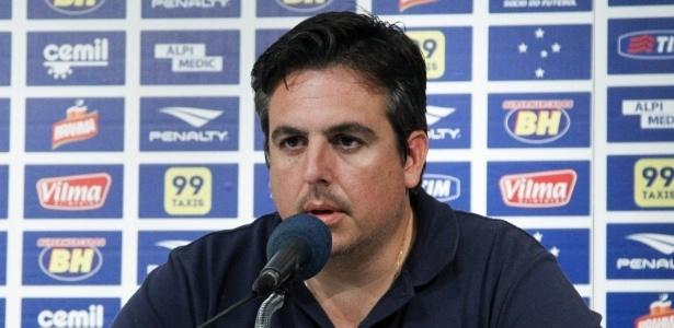 Bruno Vicintin, novo vice-presidente de futebol do Cruzeiro - Washington Alves/Light Press/Cruzeiro