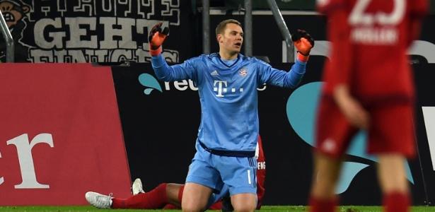 """""""Estou feliz em Munique e prolonguei meu contrato"""", diz goleiro do Bayern - AFP PHOTO / PATRIK STOLLARZ"""