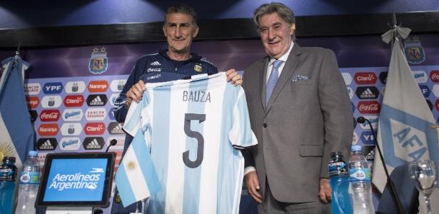 Bauza assumiu o comando da Argentina na semana passada, quando deixou o São Paulo