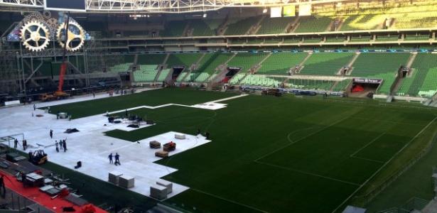 Allianz Parque divide as atenções entre jogos do Palmeiras e grandes shows