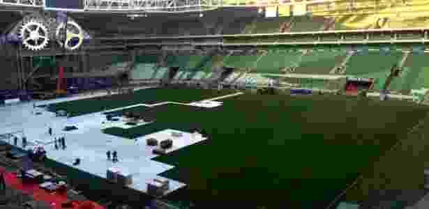 Allianz Parque divide as atenções entre jogos do Palmeiras e grandes shows - Divulgação