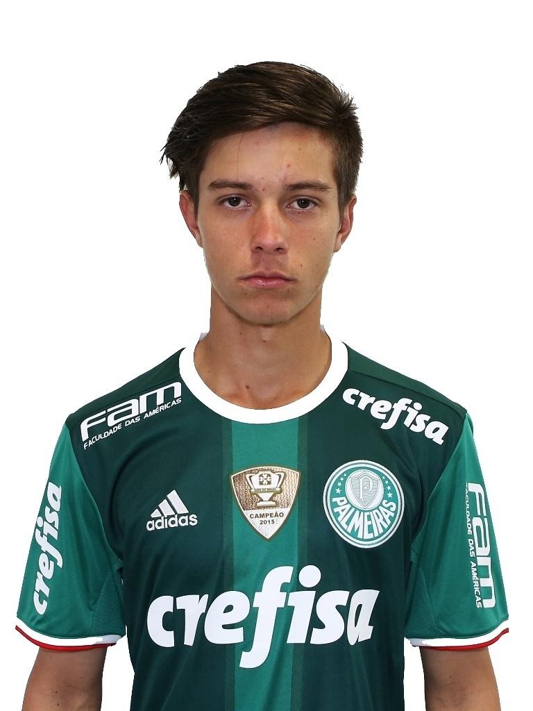 Gabriel Correia, meia sub-20 do Palmeiras