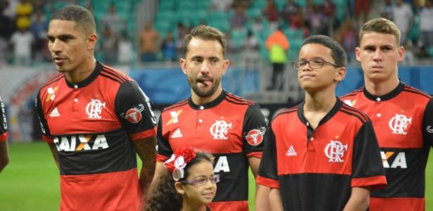 Éverton Ribeiro fez sua primeira partida pelo Flamengo