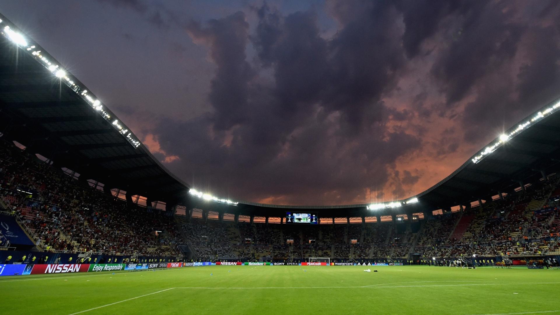Real Madrid e Manchester United disputam a Supercopa da Europa na Macedônia