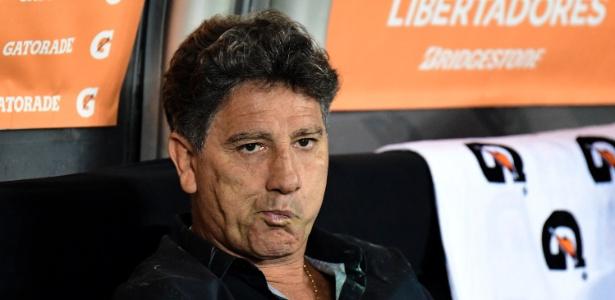 Renato Gaúcho não vai utilizar os principais jogadores do Grêmio contra Chape