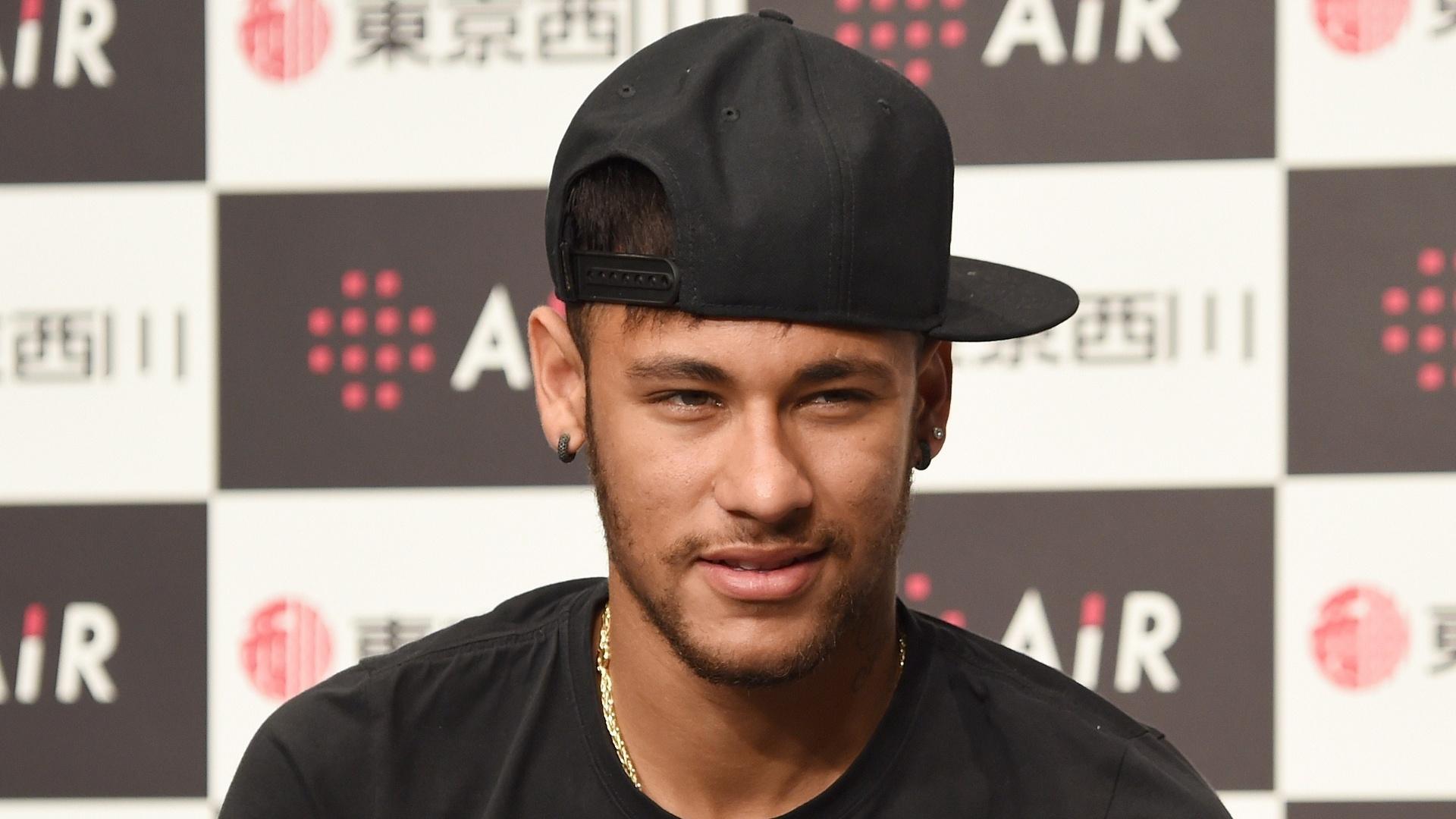Neymar vai a evento de patrocinadores em julho de 2014