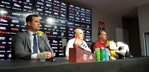 Lomba, Bandeira e Noval: trio tem desafio no futebol do Flamengo