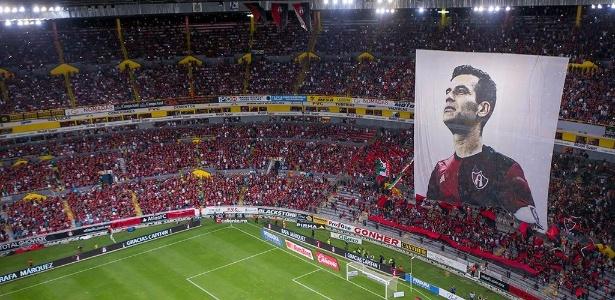 """Zagueiro foi tratado pelo Atlas como """"o maior da história do futebol mexicano"""" - Divulgação/Atlas"""