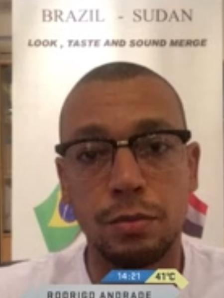 Preparador físico Rodrigo Andrade - Reprodução/Sportv