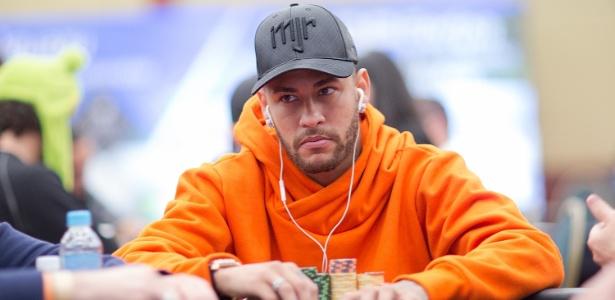 Neymar no evento High Roller do BSOP, evento de pôquer em São Paulo - Carlos Monti/Divulgação/Pokerstars