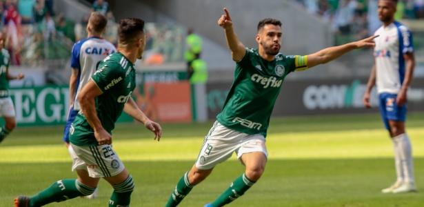 Bruno Henrique será o capitão do Palmeiras diante do Colo-Colo - ADRIANA SPACA/ESTADÃO CONTEÚDO