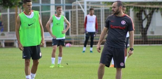 Ricardo Grosso é demitido do cargo de técnico do Sub-20 do Inter - Divulgação