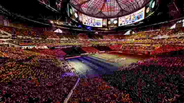 MLS Mercedes Benz Stadium - divulgação/Atlanta  - divulgação/Atlanta