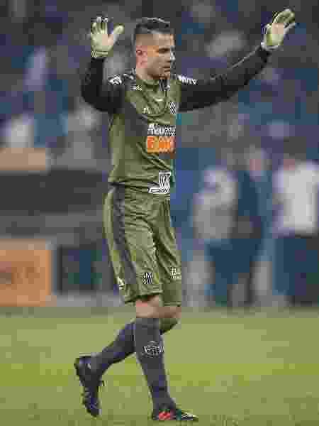 Victor, goleiro do Atletico-MG, durante partida contra o Cruzeiro pela Copa do Brasil - Thomas Santos/AGIF