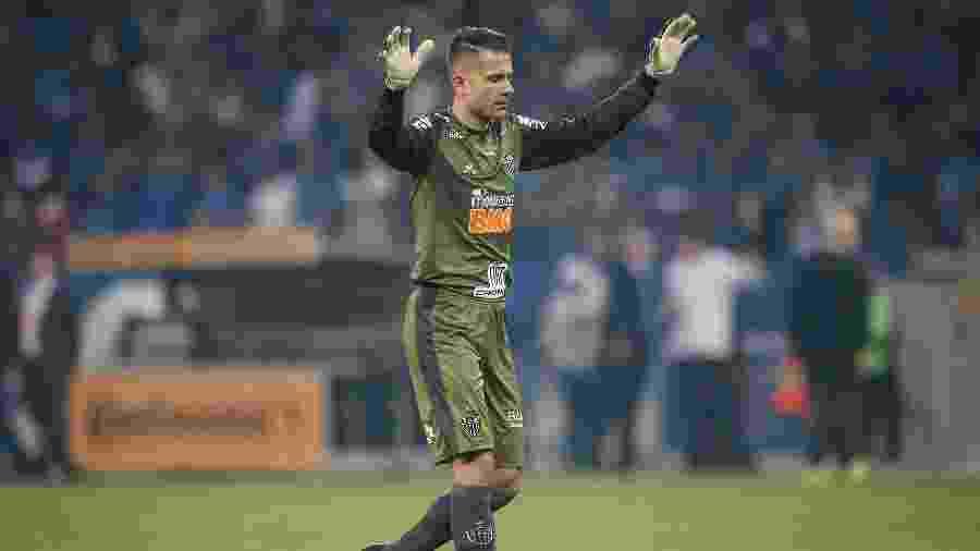 Victor, goleiro do Atletico-MG, não tem titularidade confirmada após ascensão de Cleiton - Thomas Santos/AGIF