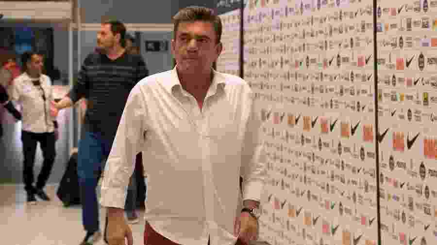Andrés Sanchez, presidente do Corinthians, citou salários atrasados em grandes clubes do futebol brasileiro  - Daniel Augusto Jr/Agência Corinthians