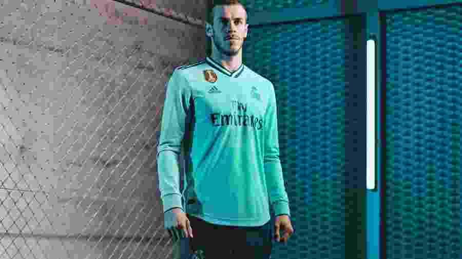 Terceira camisa do Real Madrid - Divulgação/Adidas