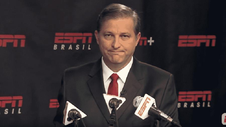 João Luís Carnelossi Palomino foi um dos nomes cortados pela ESPN - Reprodução/YoutubeESPN