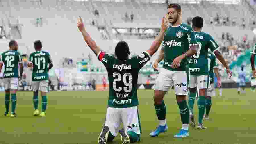 Willian celebra gol marcado pelo Palmeiras na Florida Cup - Rafael Ribeiro/Florida Cup