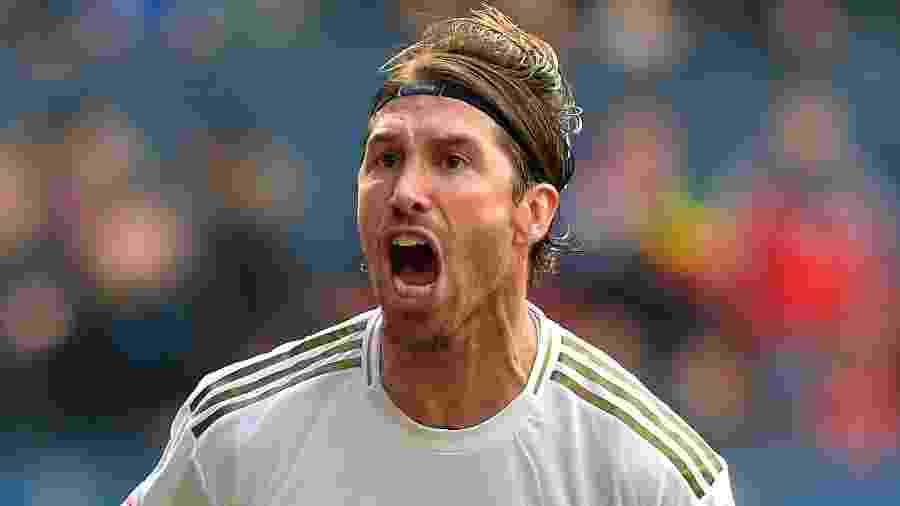 Sérgio Ramos, zagueiro e capitão do Real Madrid - Ander Gillenea/AFP