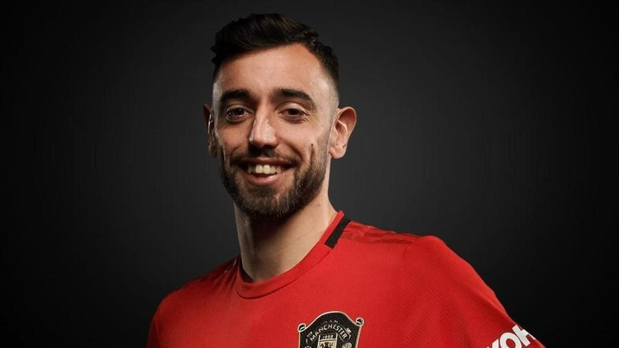 Bruno Fernandes, meio-campista do Manchester United, acredita em maior dificuldade agora - Divulgação/Site oficial do Manchester United