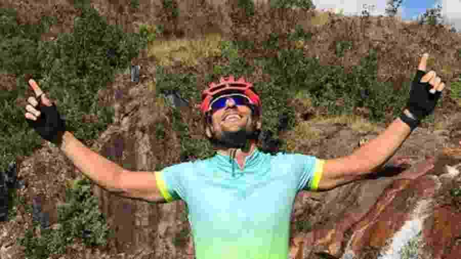 Fred se viciou em mountain bike e perdeu 7kg desde que começou o novo esporte - Divulgação