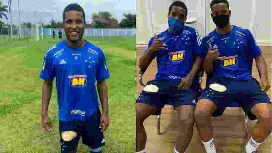 Samuel chega ao Cruzeiro para jogar no sub-17, mas já foi convocado para a equipe júnior - Divulgação