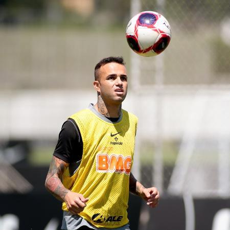 Luan em treino dos reservas do Corinthians no CT Joaquim Grava  - Rodrigo Coca/ Ag. Corinthians