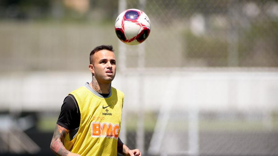 Luan treinou com os reservas do Corinthians no CT Joaquim Grava  - Rodrigo Coca/ Ag. Corinthians