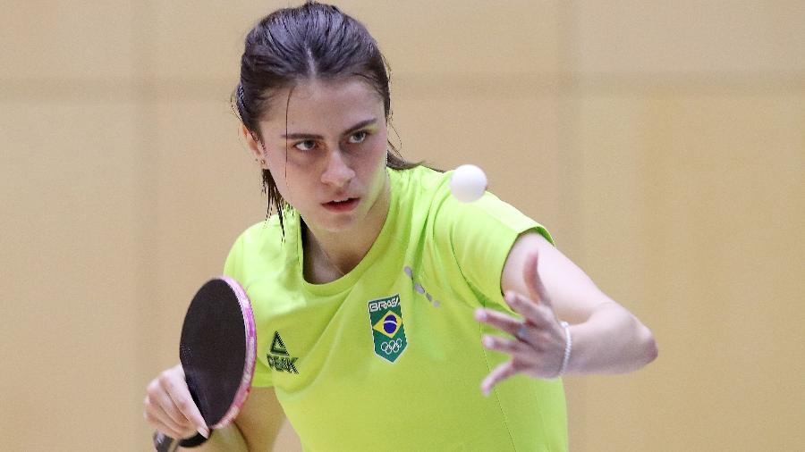 Bruna Takahashi em ação durante treino no Japão - Gaspar Nóbrega/COB