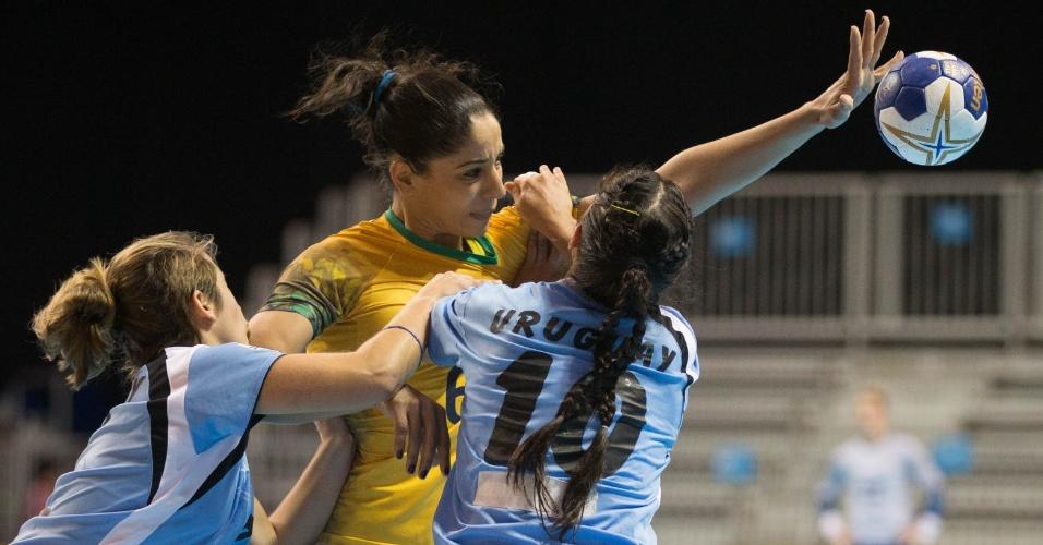 Brasil e Uruguai se enfrentam no handebol feminino