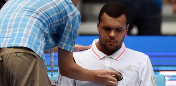 Tsonga defendeu Nadal - Greg Baker / AFP