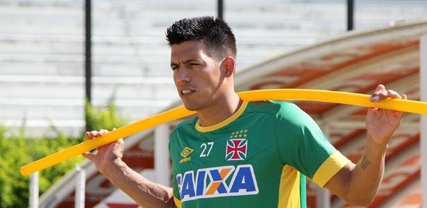 Julio dos Santos é um dos 'trintões' que está fora dos planos da diretoria