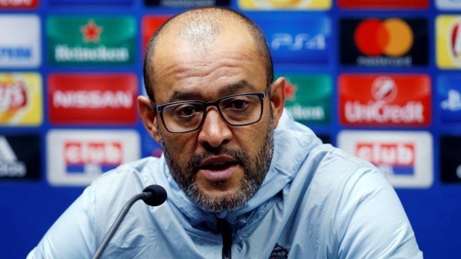Ex-técnico do Porto, Nuno Espírito Santo, em entrevista coletiva - EUTERS/Francois Lenoir
