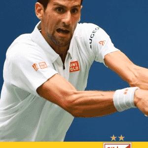 Novak Djokovic - Estrela Vermelha (SER) - Arte UOL