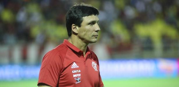 Zé Ricardo comemorou início arrasador do Flamengo, com dois gols em 15min