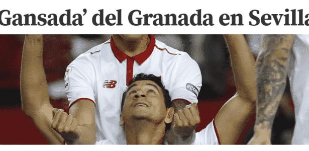 """Mundo Deportivo exalta """"gansada"""" do Sevilla - Reprodução - Reprodução"""