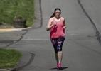 Mulher perde 17 kg com a corrida para poder doar rim e salvar amigo doente - Reprodução/Facebook