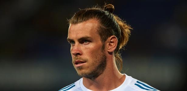 Gareth Bale em ação pelo Real Madrid durante clássico contra o Barcelona