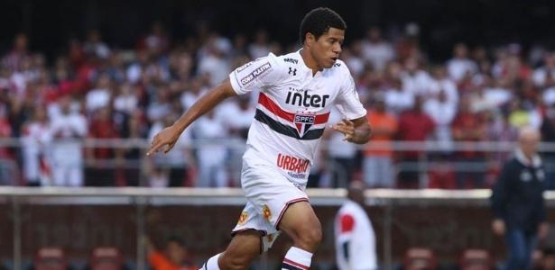 Gabriel Sara atuou alguns minutos contra o Bahia, na última rodada do Brasileirão 2017