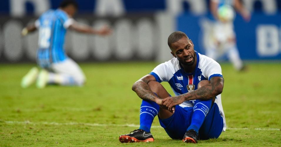 Dedé lamenta gol do Grêmio em Cruzeiro 0 x 1 Grêmio
