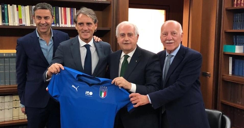 Roberto Mancini Itália