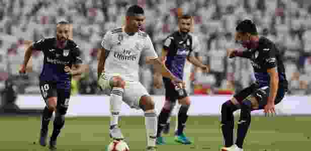 Casemiro em Real Madrid x Leganés - Kiko Huesca/EFE - Kiko Huesca/EFE