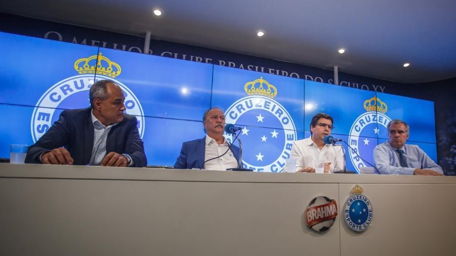 Diretoria enfrenta forte crise administrativa e financeira, sem receitas e com muitos gastos para serem efetivados - Vinnicius Silva/Cruzeiro