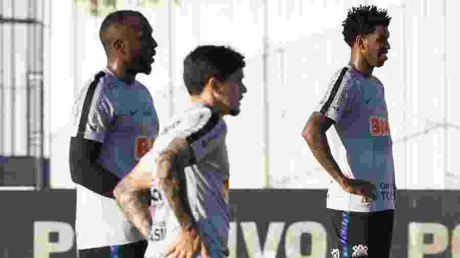 Gil desbanca Henrique e assume titularidade do Corinthians logo no primeiro jogo, neste domingo - Daniel Augusto Jr/Ag. Corinthians