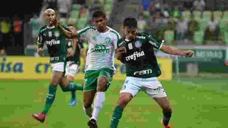 Meia Gustavo Scarpa tem uma proposta do Almería (ESP) para deixar o Palmeiras - Bruno Ulivieri/AGIF