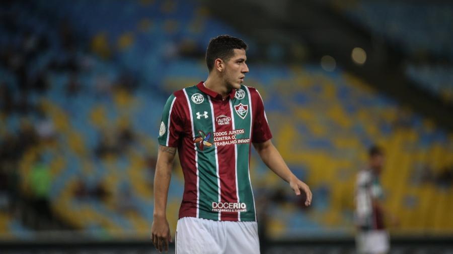 Nino está de volta ao Fluminense após período na seleção olímpica e promete lutar pelo time titular - Lucas Merçon/Fluminense FC