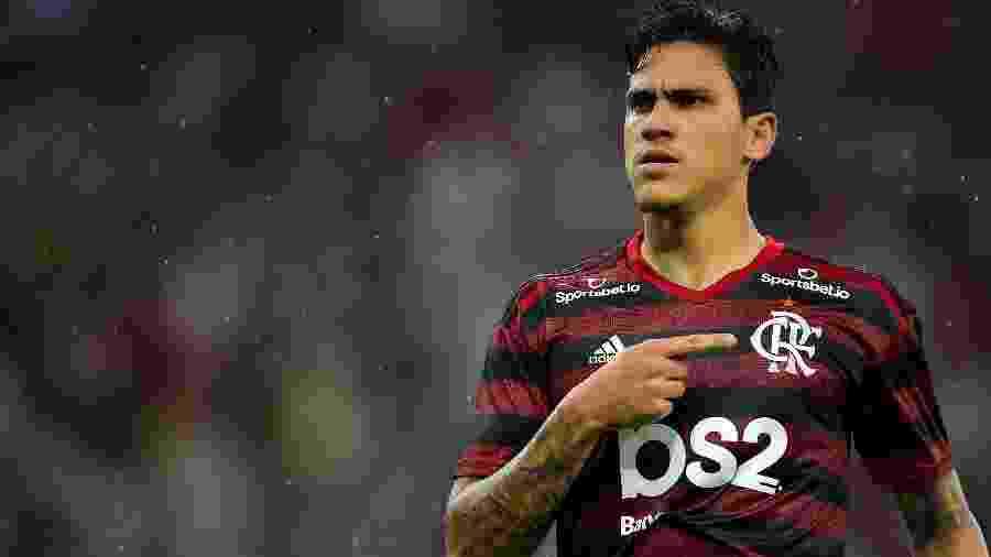 Reserva no Flamengo, Pedro entrou com ação polêmica na Justiça contra o Fluminense - Thiago Ribeiro/AGIF