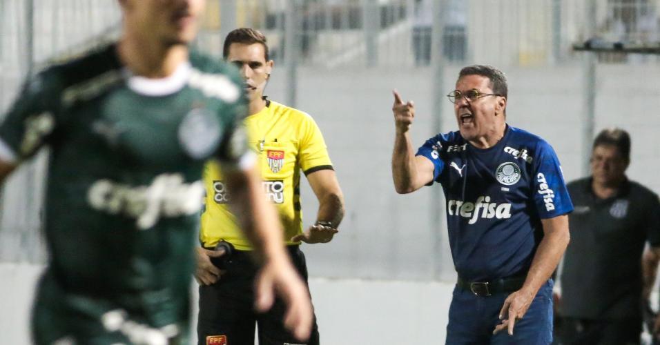 Vanderlei Luxemburgo comanda o Palmeiras contra a Ponte Preta